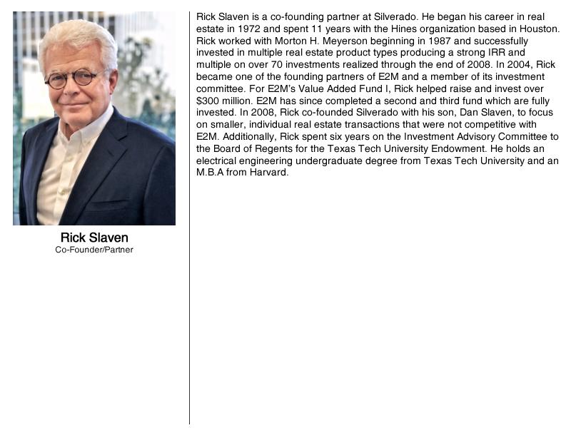 About Rick Slaven
